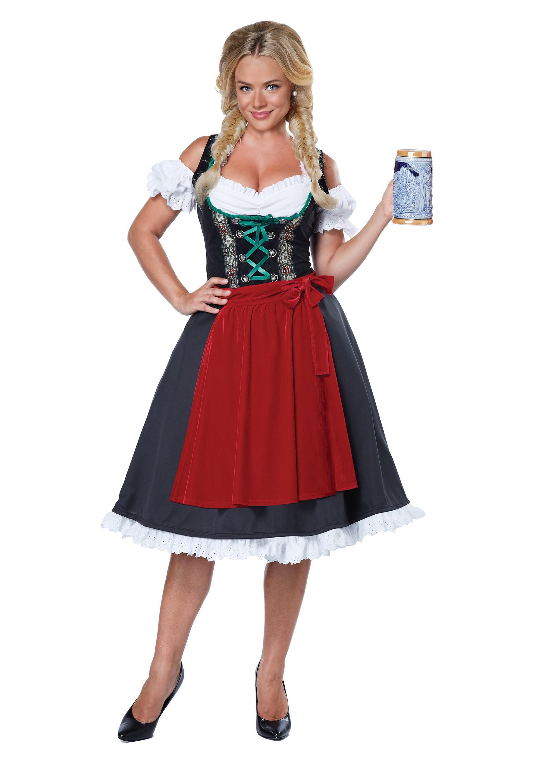 sc 1 st  Halloween Costumes UK & Womenu0027s Oktoberfest Fraulein Costume