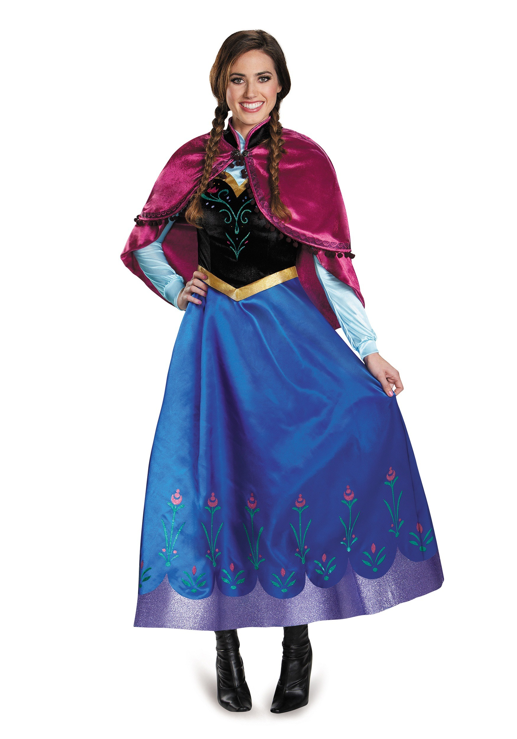 Frozen Traveling Anna Prestige Costume  sc 1 st  Halloween Costumes UK & Adult Disney Costumes - Sexy Disney Princess Costume