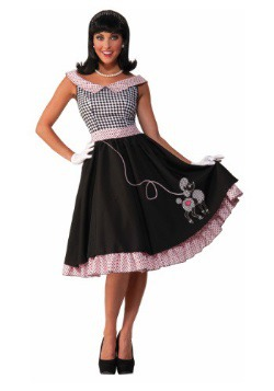 Womens 50s Checkered Cutie Costume