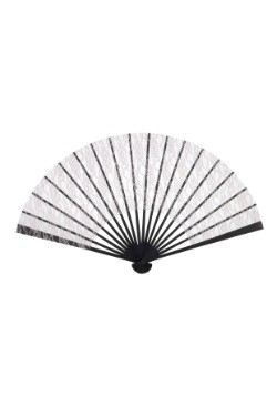 Beige Lace Fan