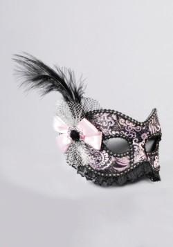 Adult Venetian Showgirl w/Lace Mask