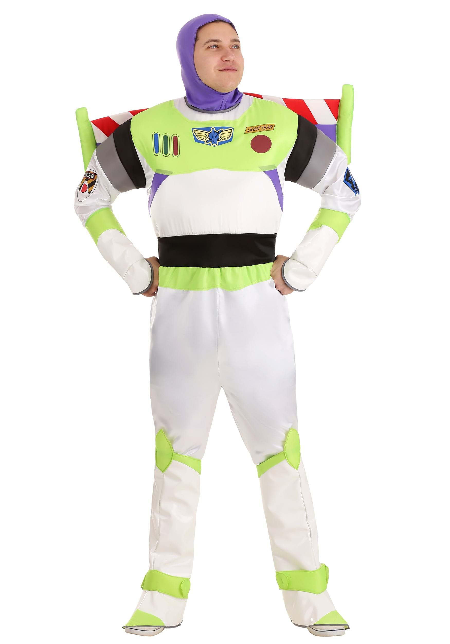 Adult Deluxe Buzz Lightyear Costume  sc 1 st  Halloween Costumes UK & Toy Story Costumes - Adult Kids Disney Halloween Costume