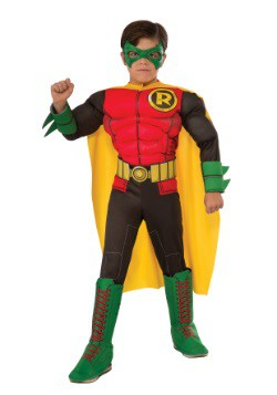 DC Comics Deluxe Child Robin Costume