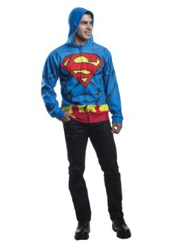 Adult Superman Costume Hoodie