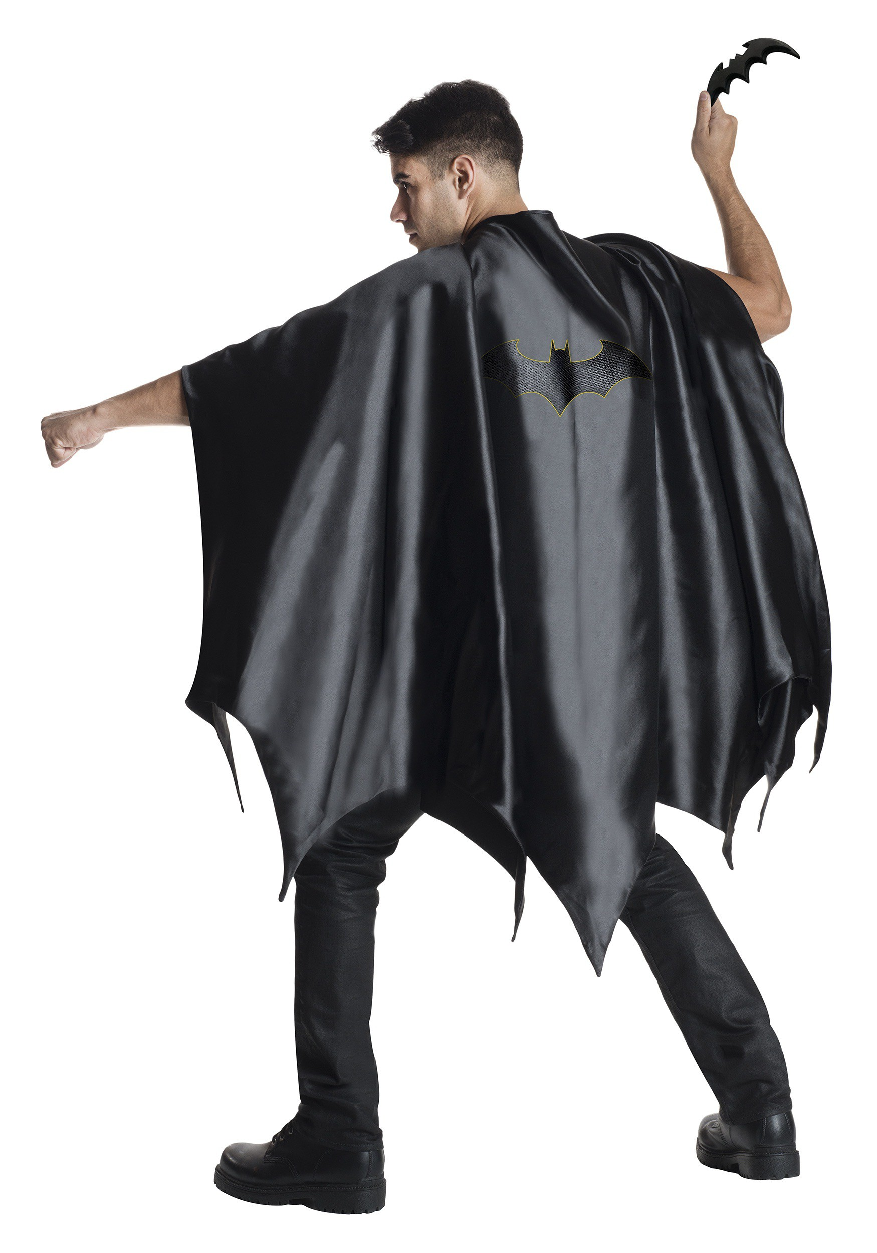 sc 1 st  Halloween Costumes UK & Adult Deluxe Batman Cape
