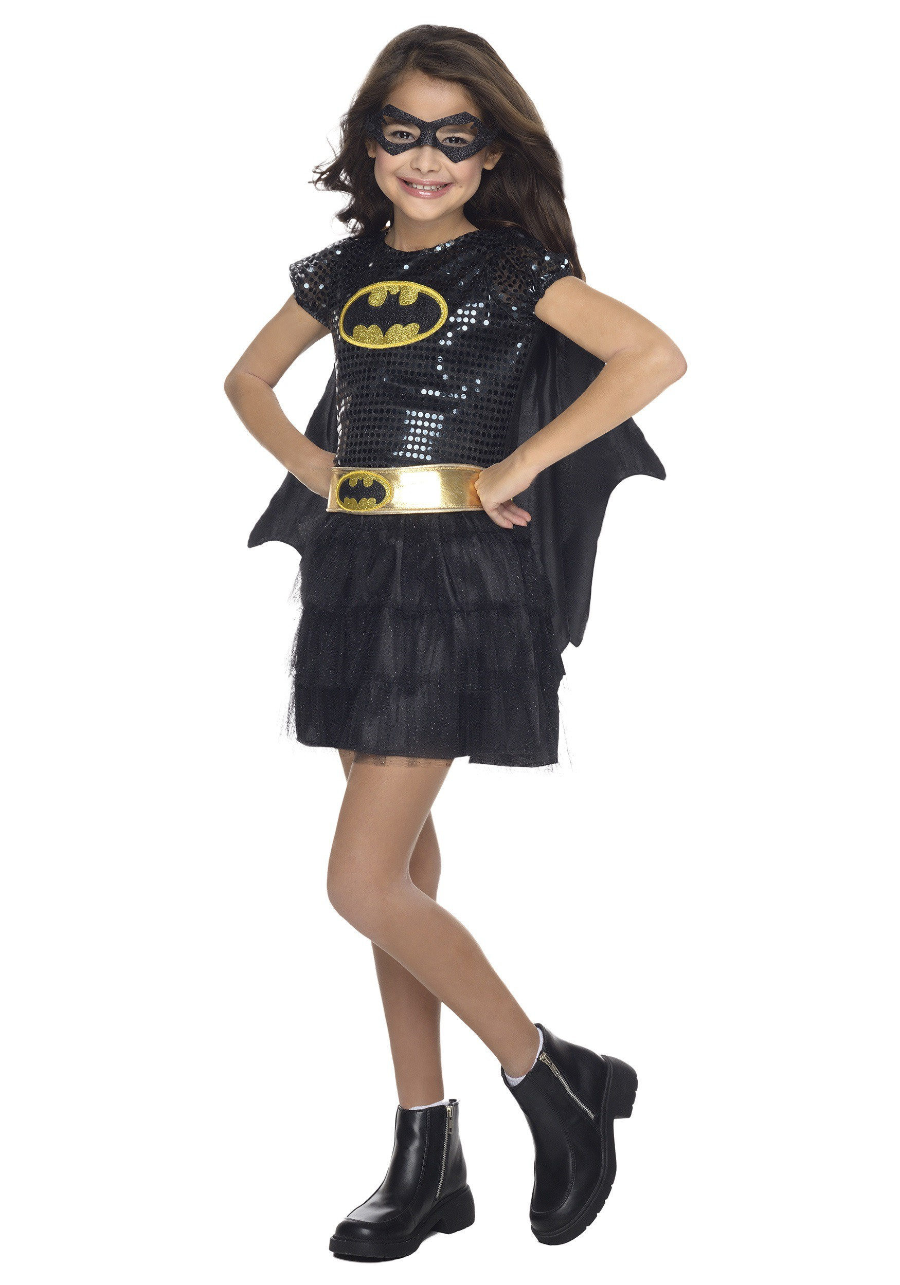 Toddler Batgirl Sequin Costume  sc 1 st  Halloween Costumes UK & Batgirl Costumes - Adult Child Sexy Batwoman Halloween Costumes