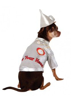 Tin Man Dog Costume