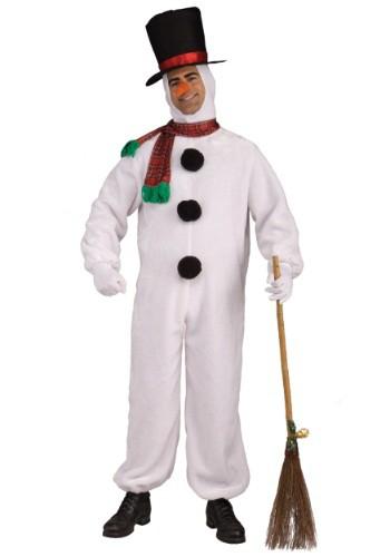 Adult Soft Snowman Costume