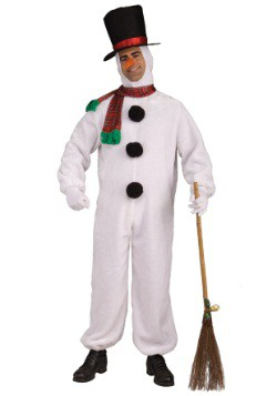 Adult Soft Snowman Costume