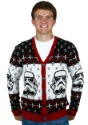 Star Wars Stormtrooper Ugly Sweater Cardigan Mens