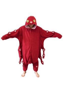 Red Octopus Pajama Costume
