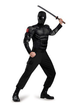Adult Snake Eyes Classic Muscle Costume
