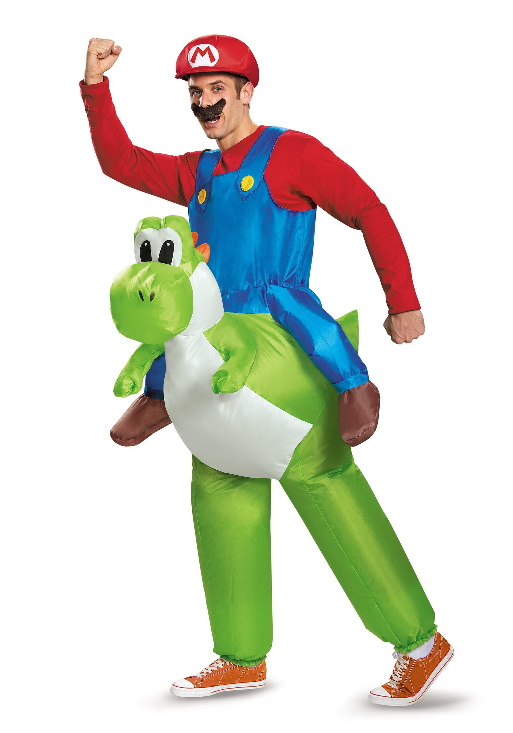 Mario And Luigi Halloween Costumes - HalloweenCostumes.com