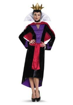 Womens Deluxe Evil Queen Costume