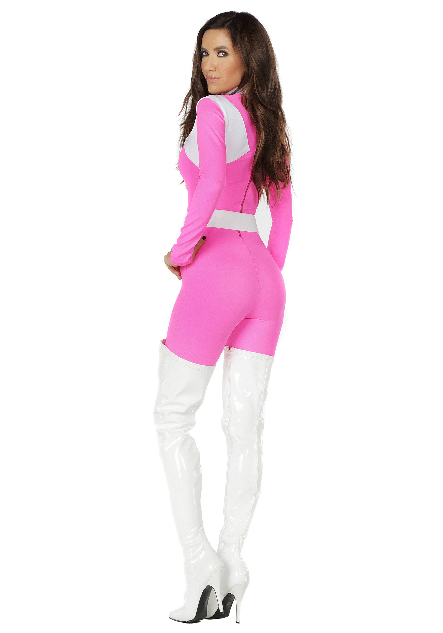 Women S Dominance Action Figure Pink Catsuit