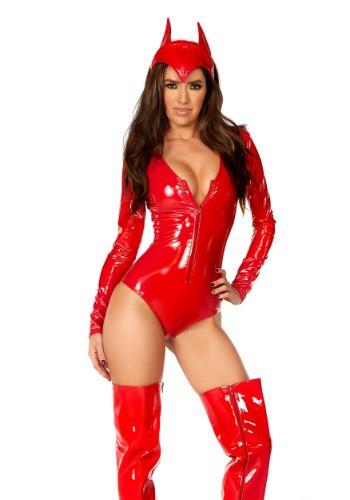 Women's Burning Desire Devil Costume