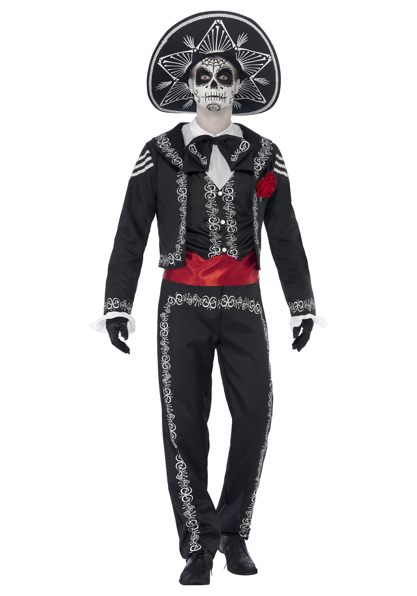 Day of the Dead Senor Bones Costume  sc 1 st  Halloween Costumes UK : mexican skeleton costume  - Germanpascual.Com