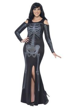 Women's Curves Skeleton Dress