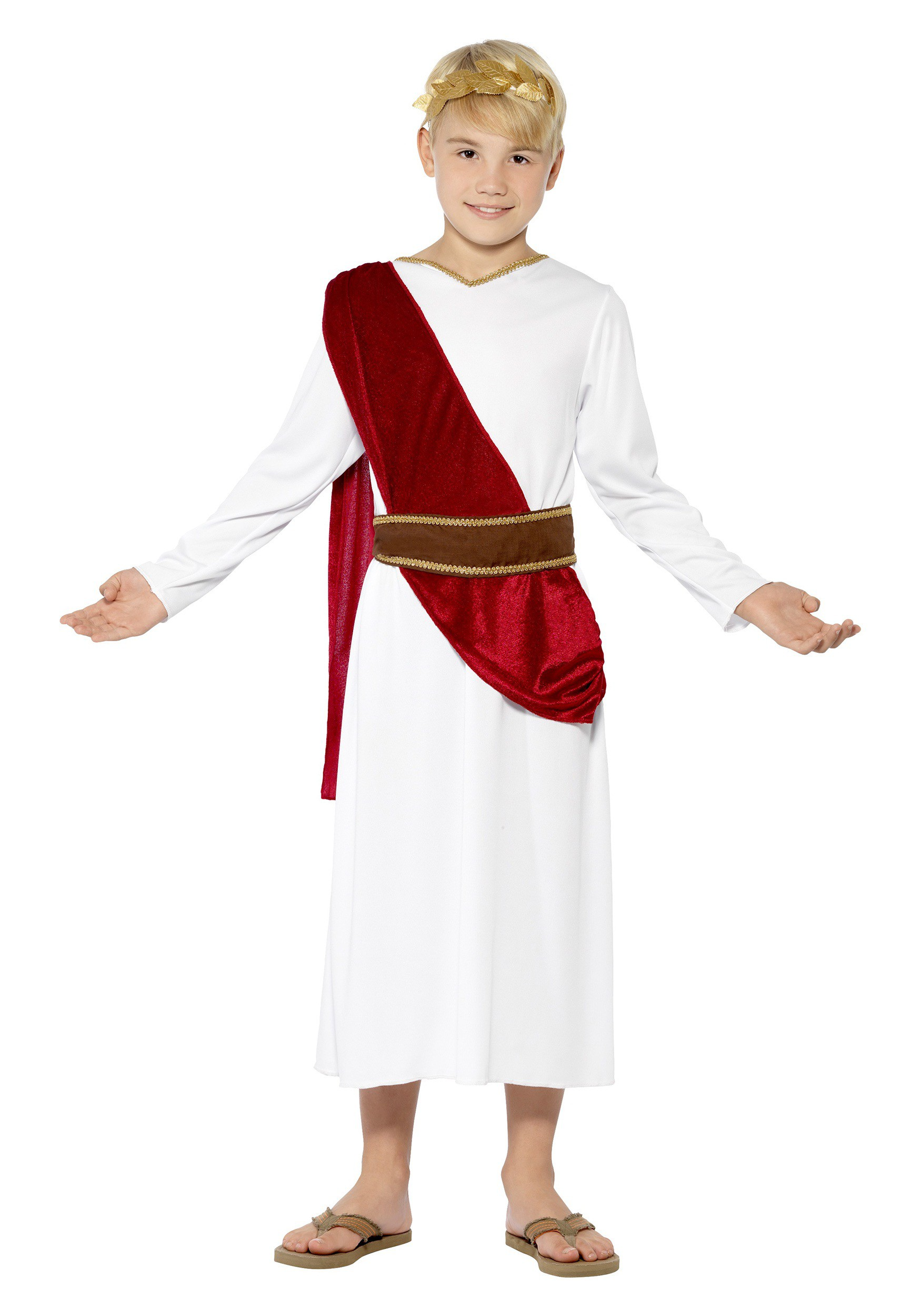 Child's Roman Boy Fancy Dress Costume