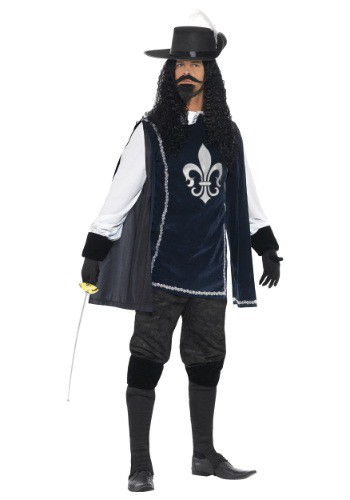 Men's Brave Musketeer Costume