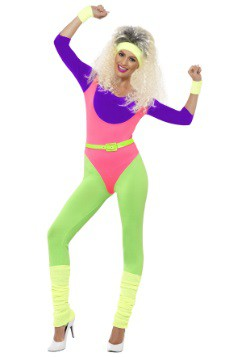 Women's 80's Workout Costume