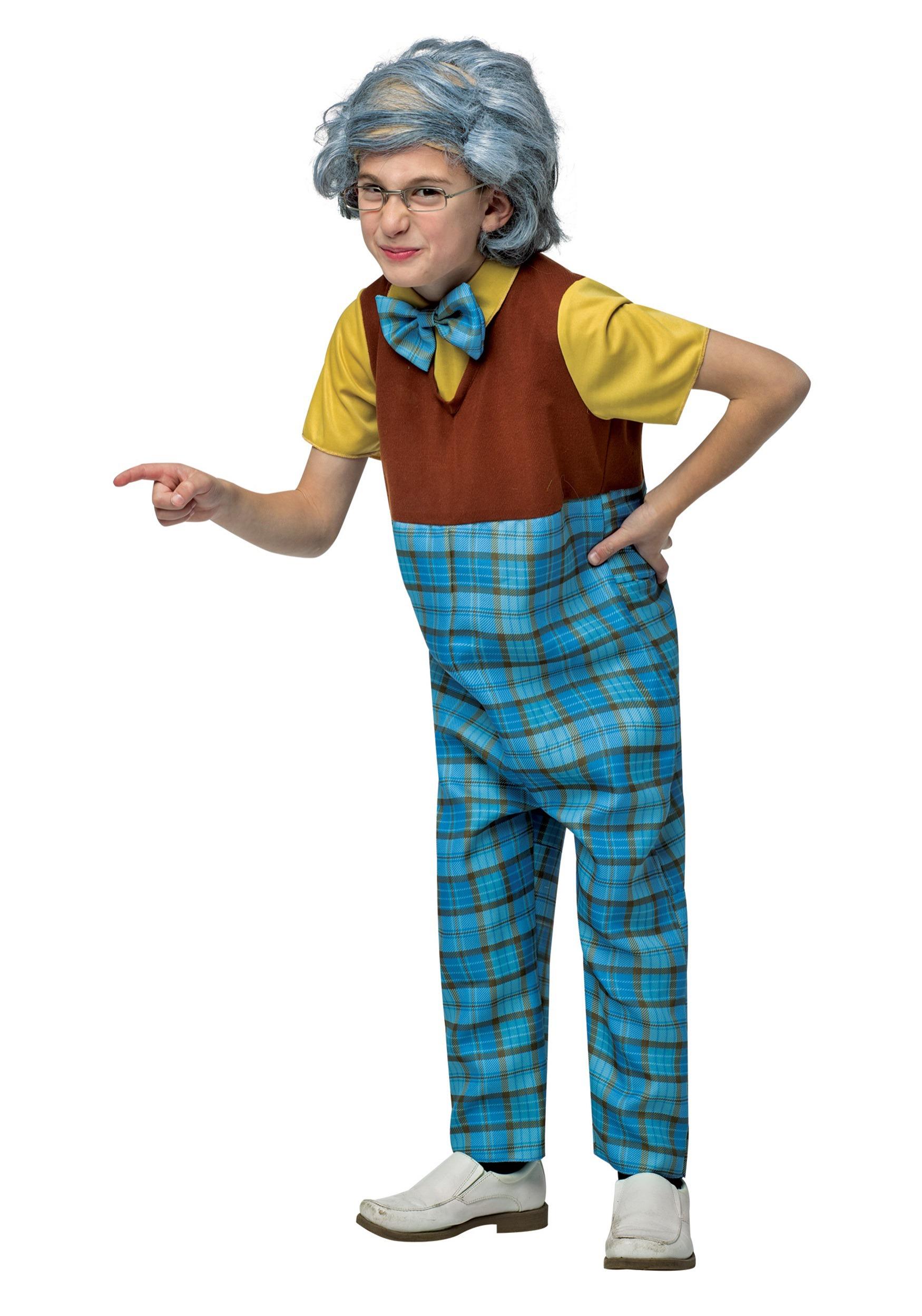 Kids Grandpa Costume  sc 1 st  Halloween Costumes UK & Funny Kids Costumes - Girls Boys Funny Halloween Costume