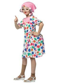Kids Grandma Costume