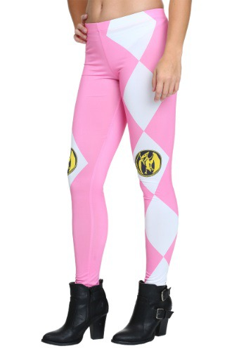 Power Rangers Pink Ranger Juniors Leggings