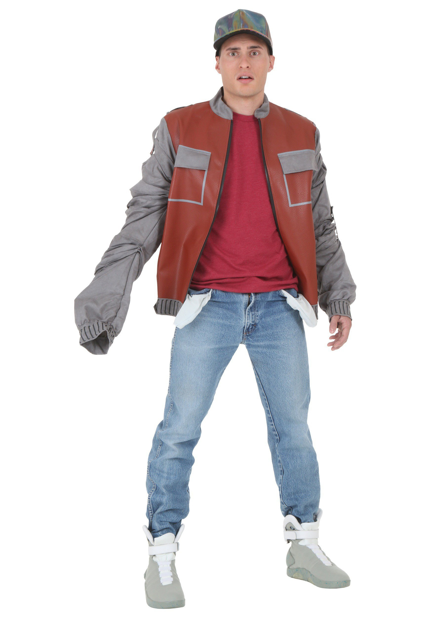 Plus_Size_Back_to_The_Future_II_Marty_McFly_Fancy_Dress_Costume_Jacket_Fancy_Dress_Costume