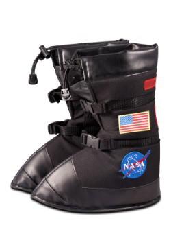 Kids Black Astronaut Boots