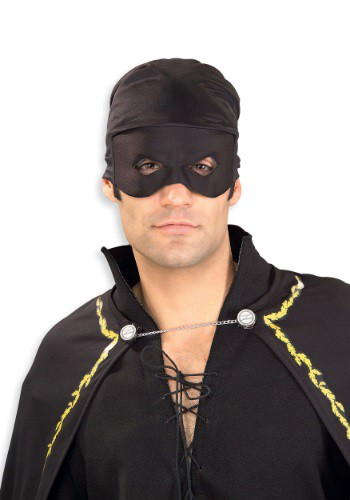 Adult Zorro Bandana with Mask