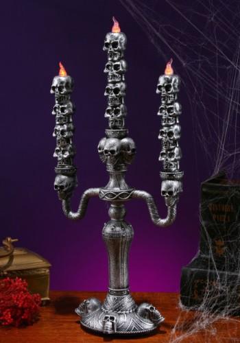 Stack of Skulls Candleabra