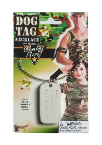Combat Hero Dog Tags