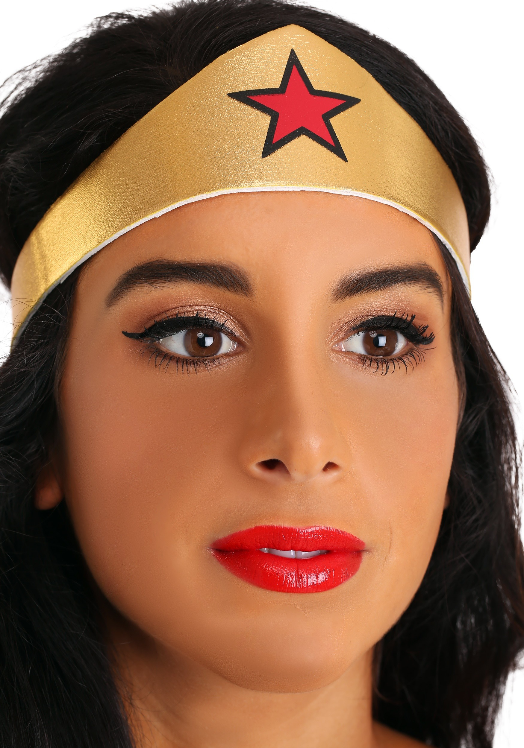 Adult Deluxe Long Dress Wonder Woman Costume-8986