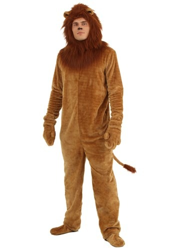 Plus Size Deluxe Lion Costume