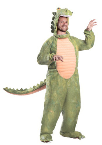 Plus Size Al Gator Costume