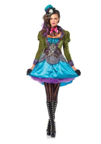 Deluxe Mad Hatter Women's Costume