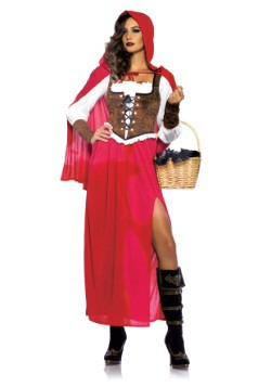 Womens Woodland Red Riding Hood Costume