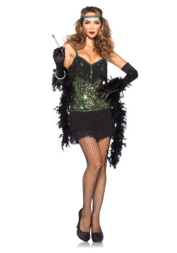 Women's Feathered Flapper