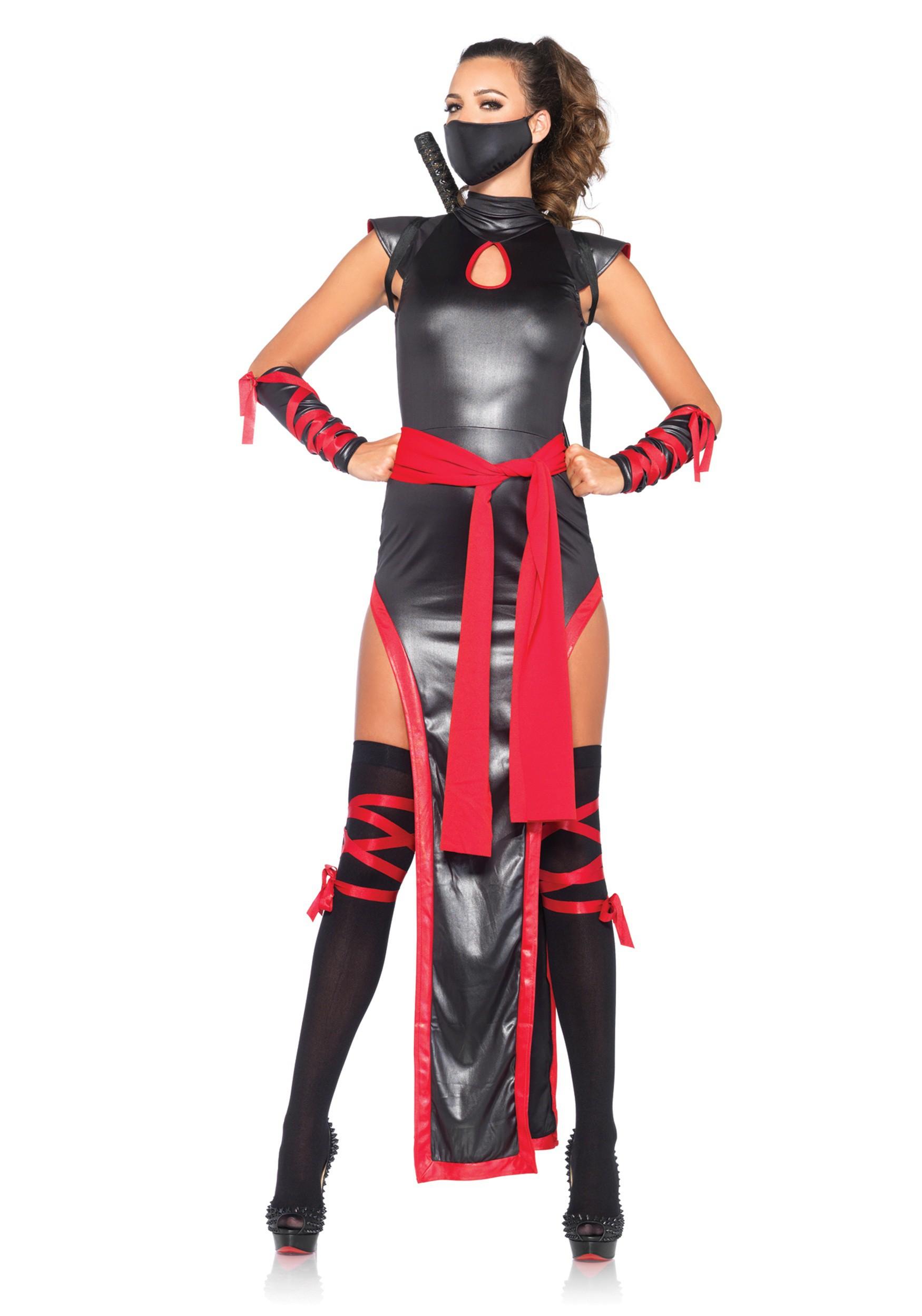 Womenu0027s Shadow Ninja  sc 1 st  Halloween Costumes UK & Womenu0027s Shadow Ninja Costume