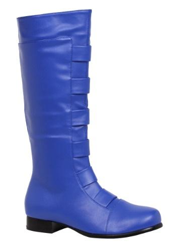 Adult Blue Superhero Boots