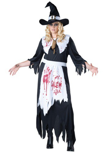Plus Size Salem Witch Costume