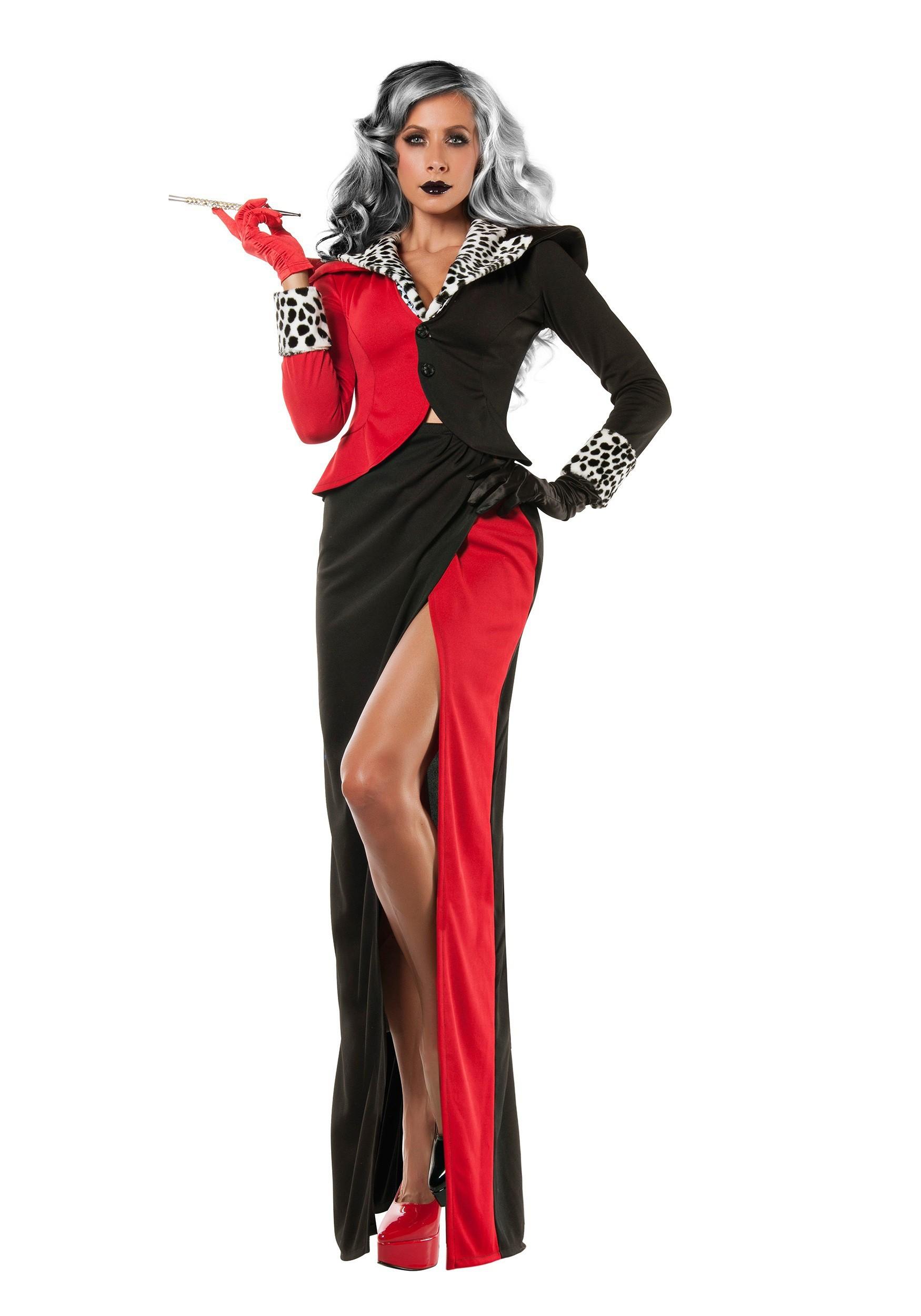 Womens plus size cruella devil costume womens plus size cruella devil costume solutioingenieria Image collections