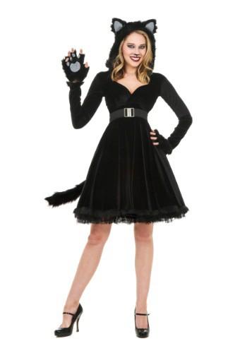 Women's Black Cat Costume