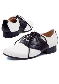 Womens 50s Saddle Shoes
