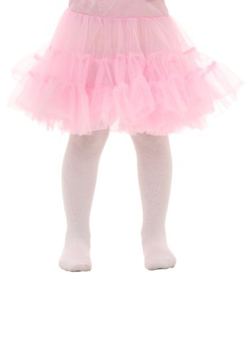 Toddler Pink Knee Length Crinoline