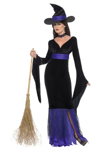 Women's Glamorous Witch Costume