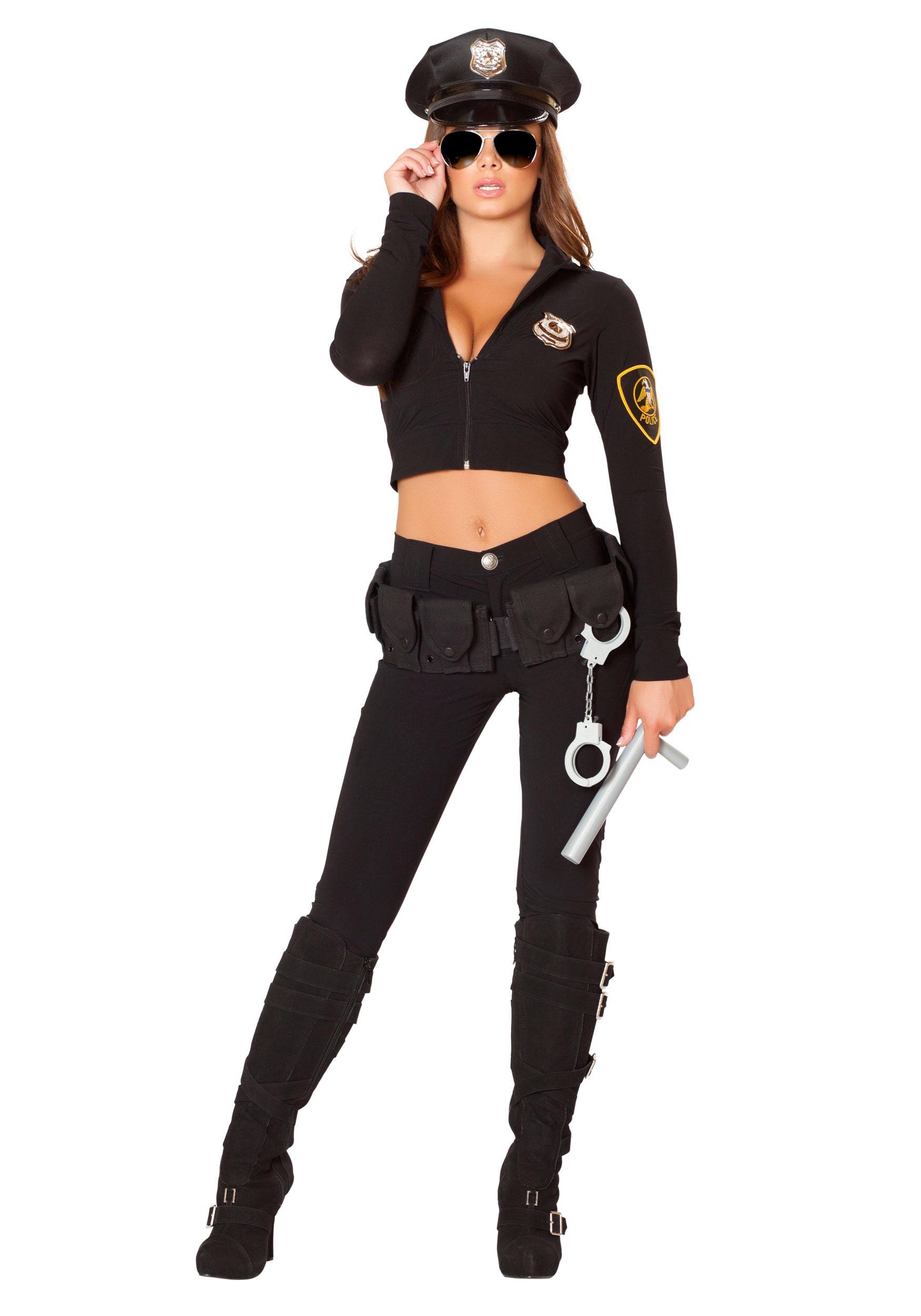 Sexy cop halloween costumes