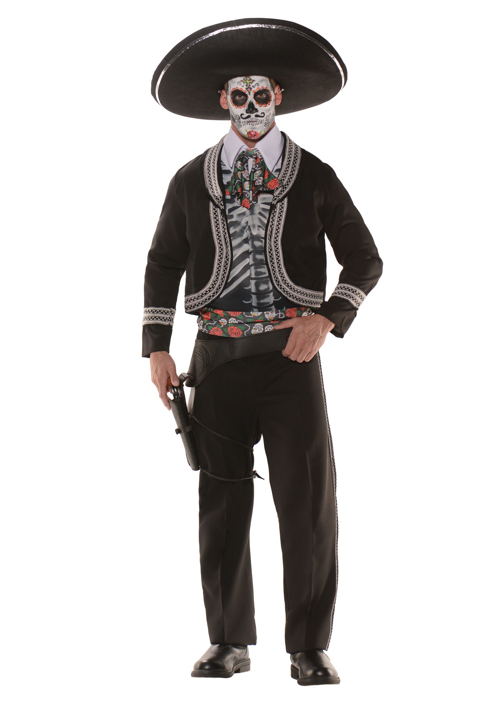 Men S Plus Size Day Of The Dead Costume