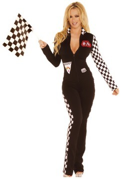 Sexy Race Car Jumpsuit